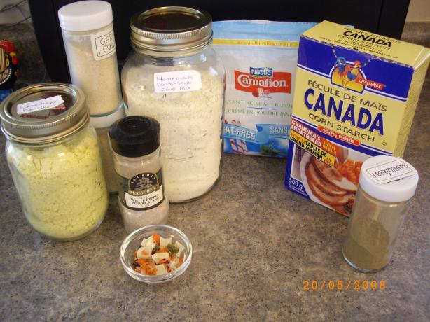 Condensed Cream of Soup Mix ( Homemade Substitute )