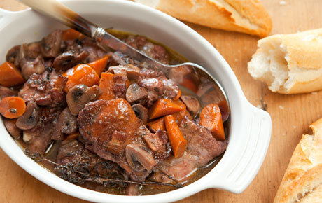 Coq Au Vin Stew (Crock Pot)