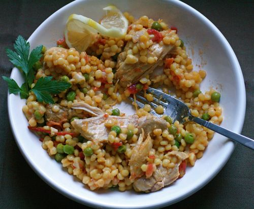 Couscous with Chicken and Tomatoes