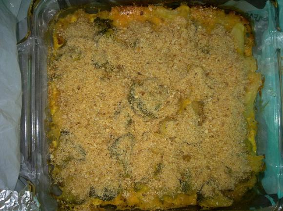 Crab Broccoli Casserole