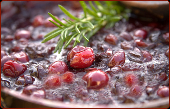 Cranberry Orange Relish with Orange Flavored Liqueur