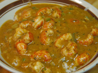 Crawfish (Or Shrimp) Etouffe'