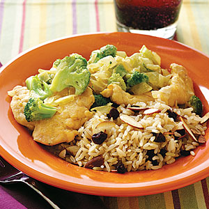 Creamed Chicken and Broccoli