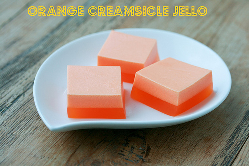 Creamsicle Jello
