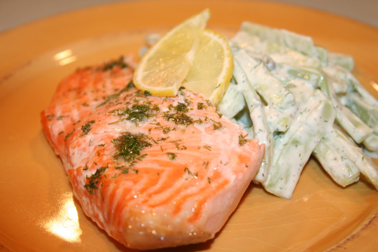 Creamy Dill Sauce (for Smoked or Poached Fish)