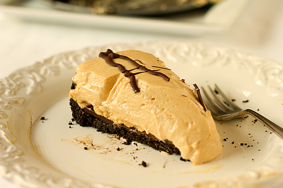 Creamy Peanut Butter Pie - Recipegreat.com