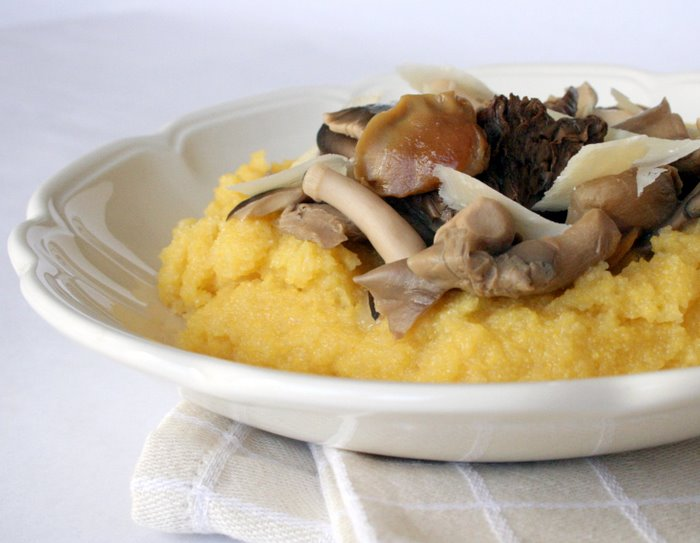 Creamy Polenta With Wild Mushrooms