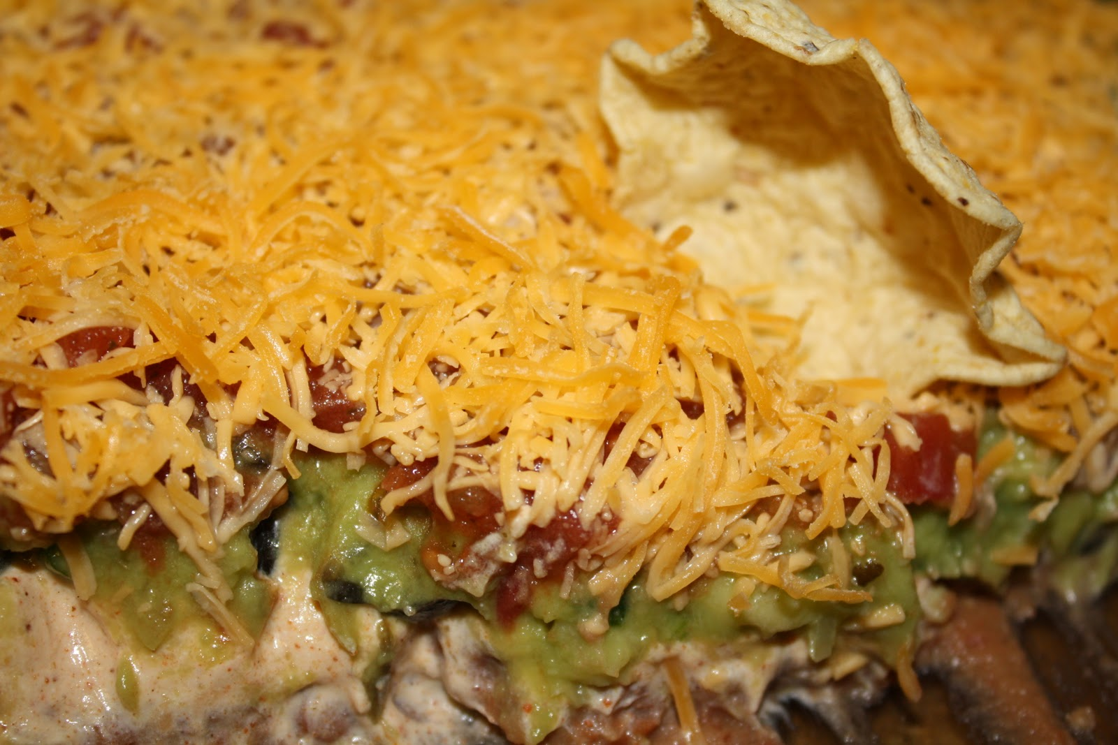 Creamy Refried Bean Dip