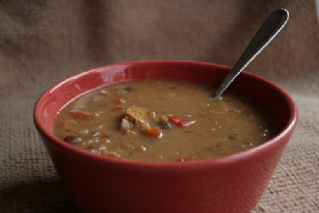 Creamy Vegetable Cumin Soup
