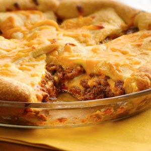 Crescent Cheeseburger Bake