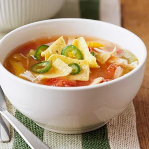 Crock Pot Chicken Tortilla Soup - Ww