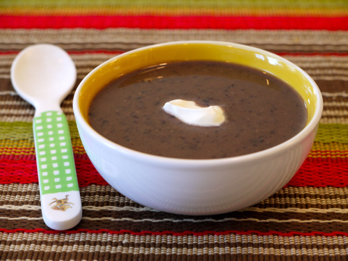 Crock Pot Dark Bean Stew