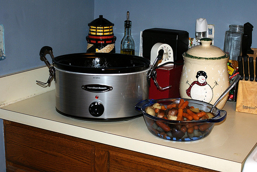 Crock Pot Winter Dinner