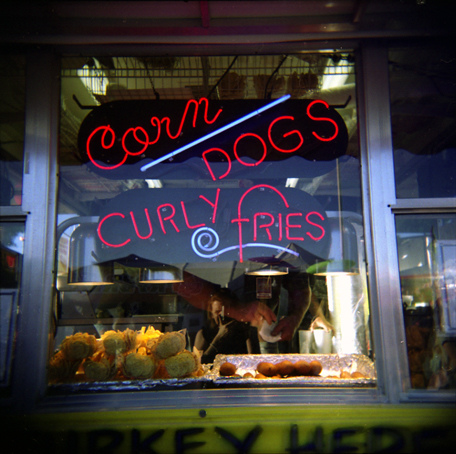 Curly Corn Dogs