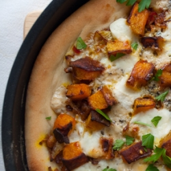 Curried Pumpkin Pizzas