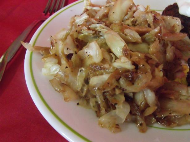 Danish Browned Cabbage With Caraway