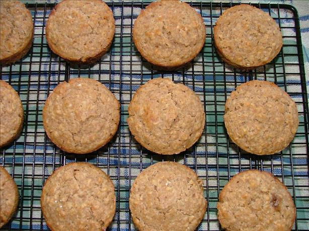 Daphne's Cinnamon Oatmeal Muffins