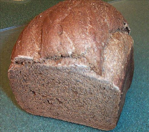 Dark Rye Bread (Dough Made in the Bread Machine)