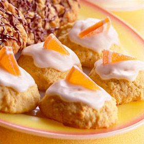 Date and Orange Drop Cookies