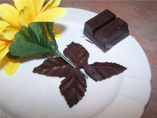 Decorative Chocolate Leaves