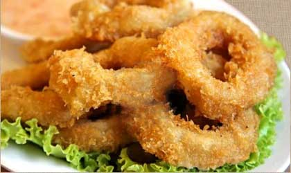 Deep Fried Calamari (simple)