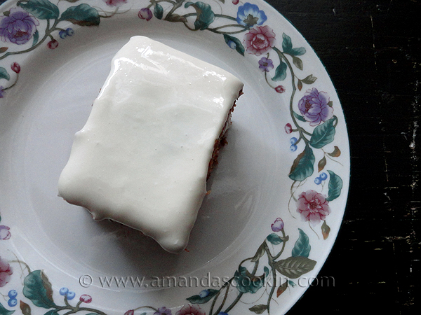 Delicious Low-Fat Carrot Cake