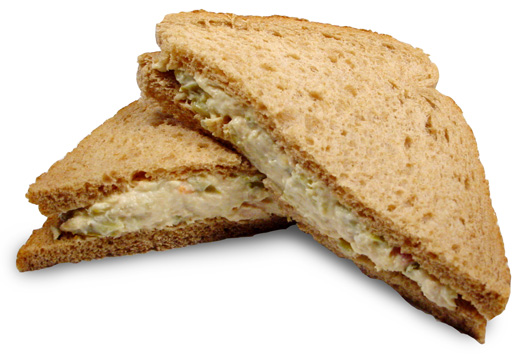 Dilled Tuna and Egg Sandwiches