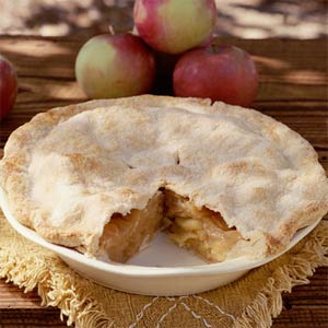 Dried Apple Cider Pie