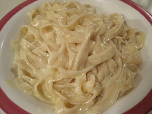 Easiest Ever Fettuccine Alfredo