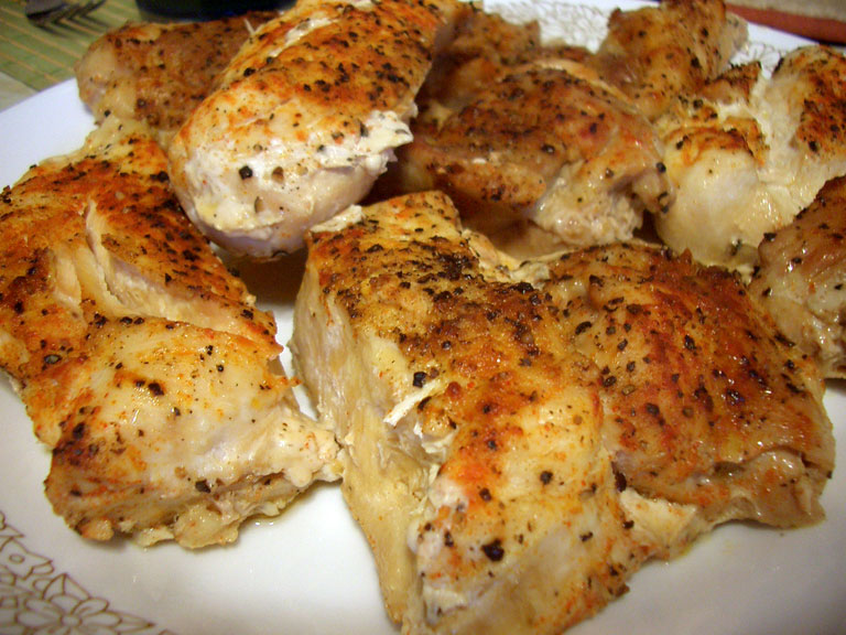 Easiest Oven Baked Chicken
