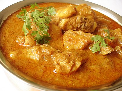 East Indian Chicken Curry