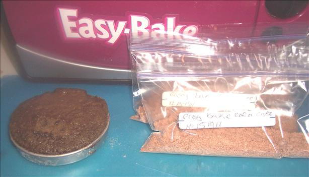 Easy Bake Oven Chocolate Cake Mix