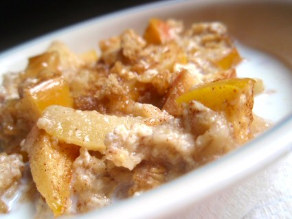Easy Baked Apple Oatmeal Breakfast