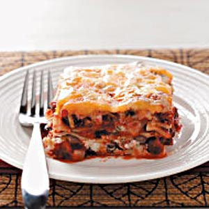 Easy Black Bean Lasagna