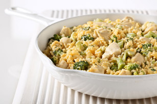 Easy Cheesy Broccoli Chicken With Rice