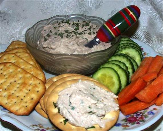 Easy Cheesy Tuna Spread