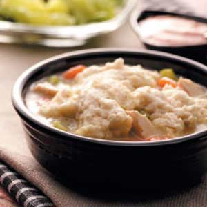 Easy Chicken & Dumplings