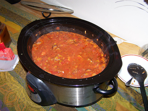 Easy Crock Pot Jambalaya