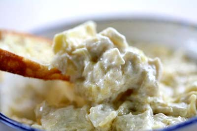 Easy Hot Artichoke Dip