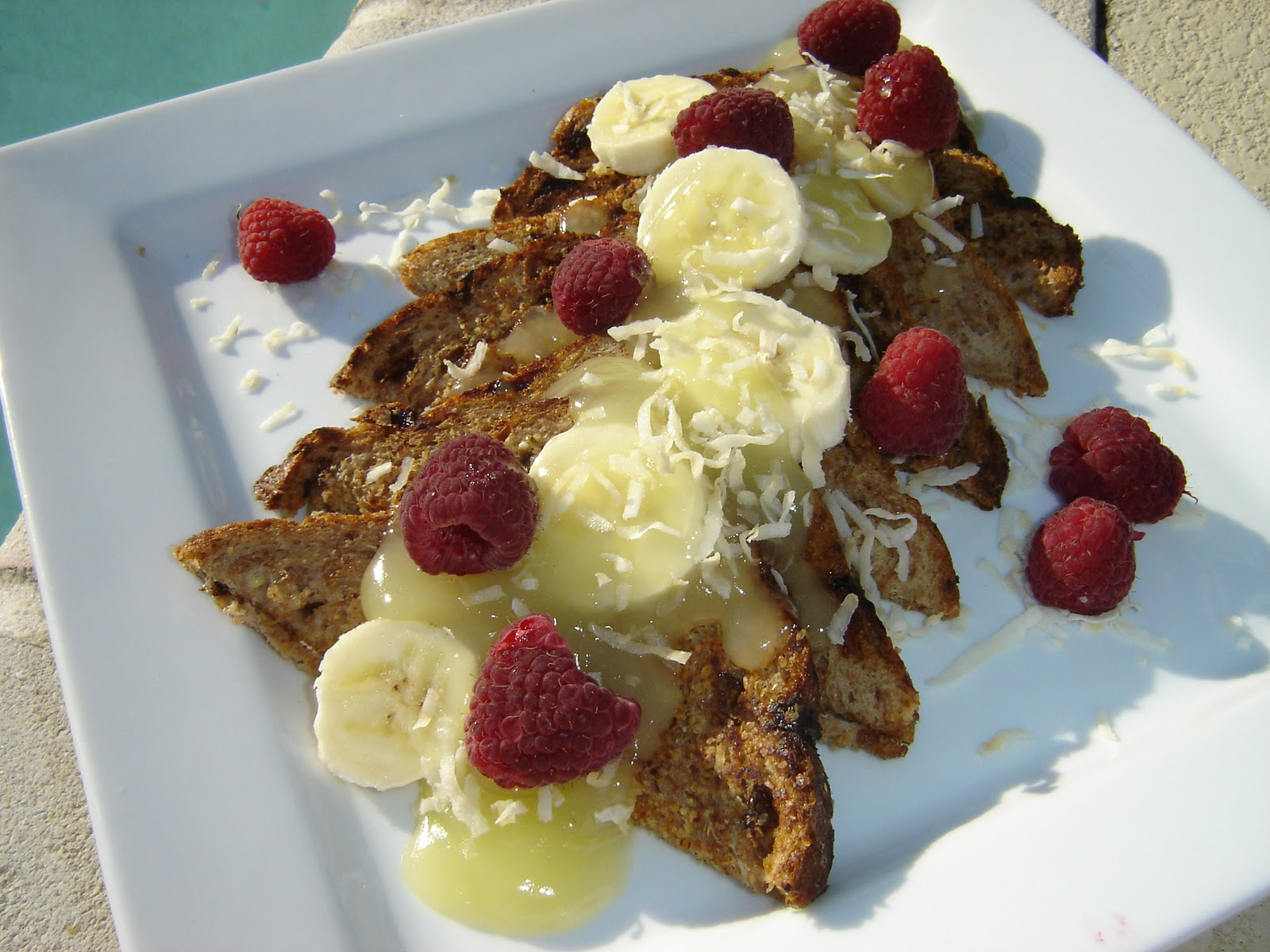 Easy Pina Colada French Toast