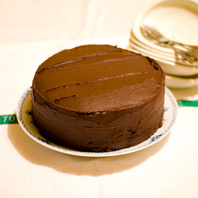 Egg-free Milk-free Chocolate Cake