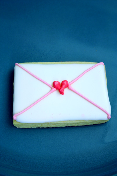 Envelope Cookies
