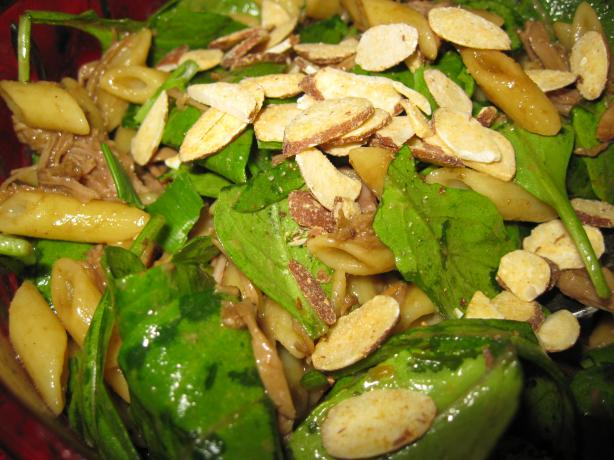 Fabulous Peking Pork Pasta Salad