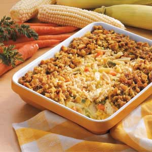 Family Favorite Crunchy Chicken Casserole