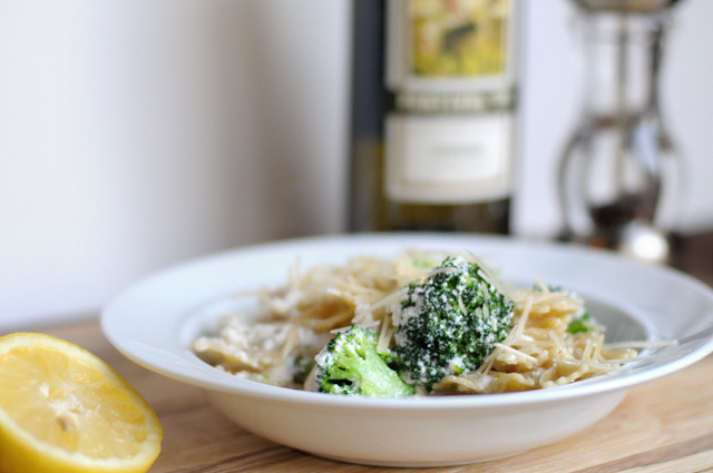 Farfalle Pasta With Broccoli and Ricotta