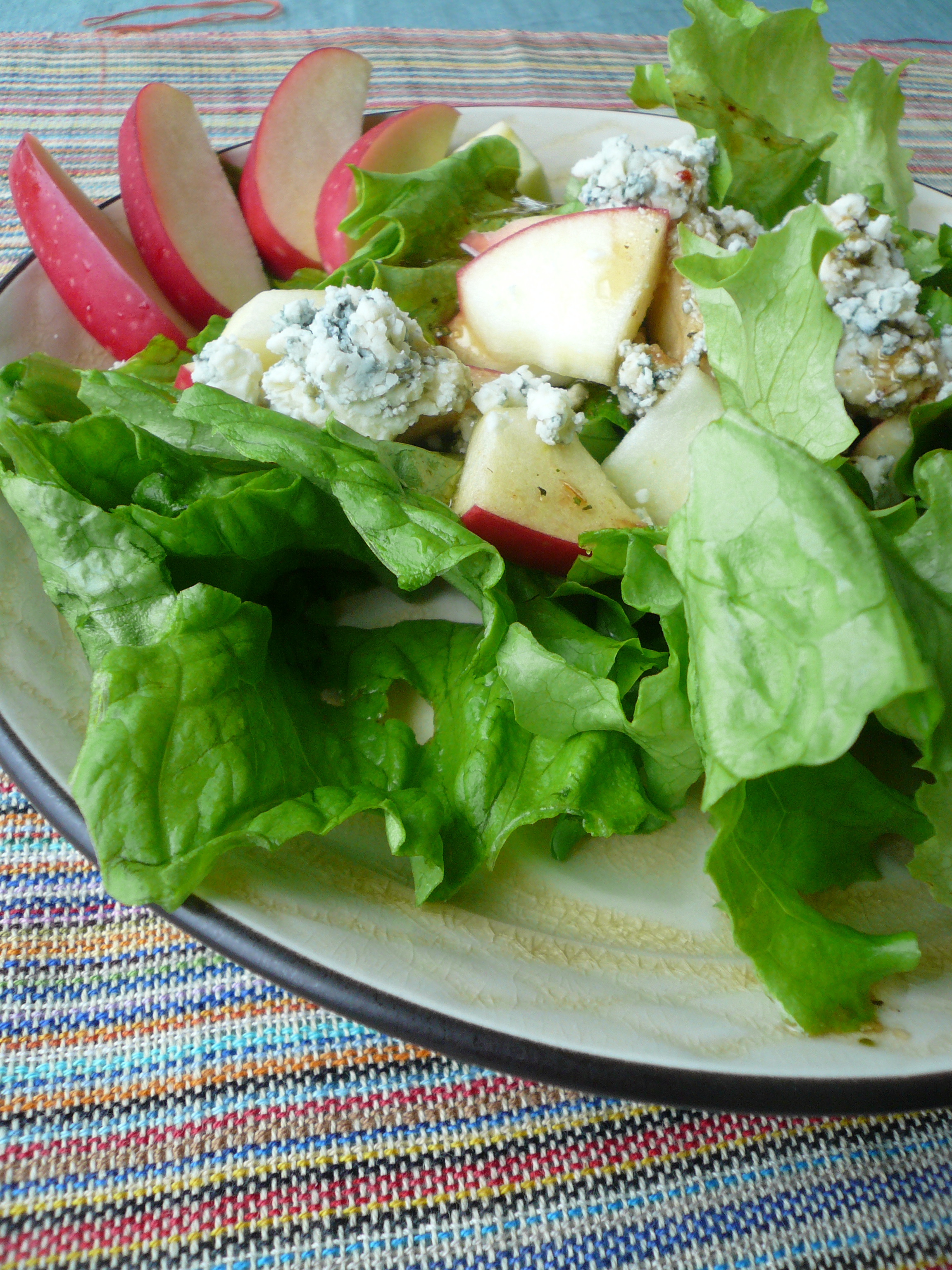 Farmer's Market Salad with Raspberry Vinaigrette