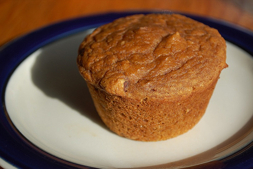 Fat-Free Pumpkin Muffins