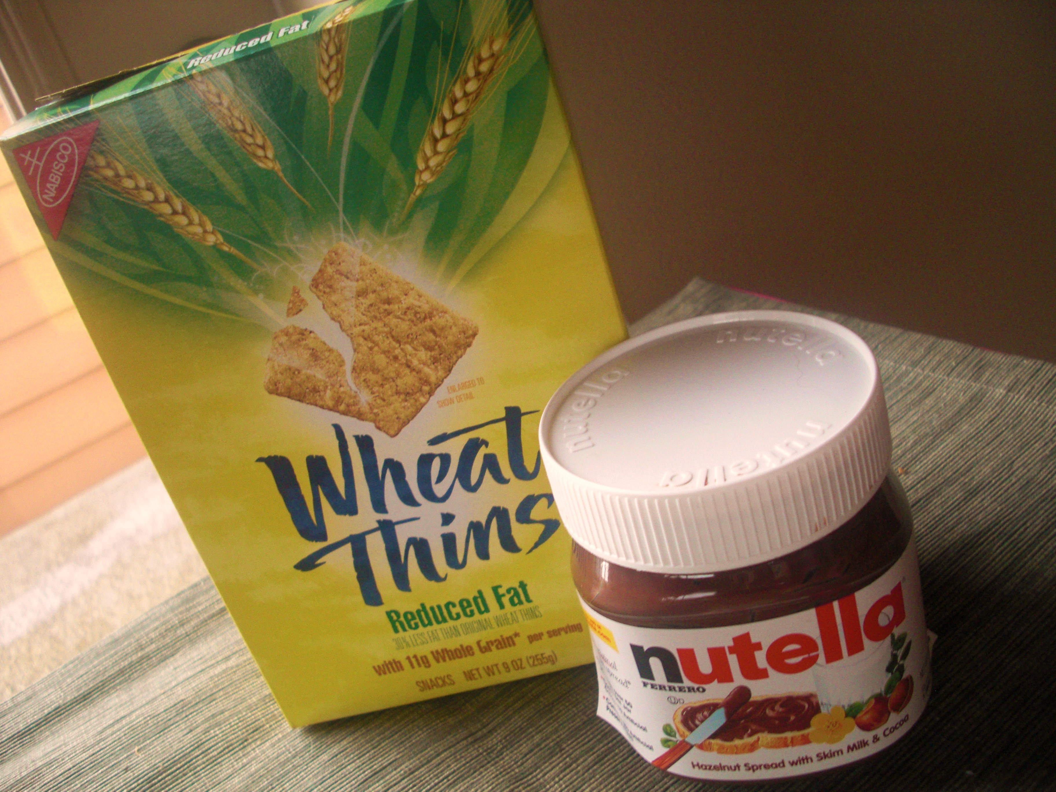 Faux Wheat Thins