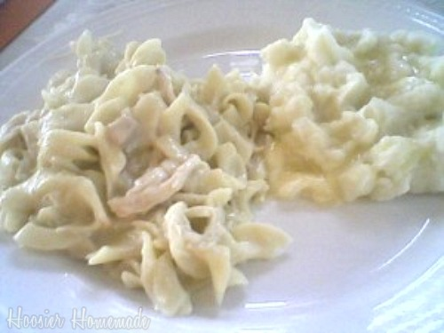 Favorite Homemade Chicken and Noodles