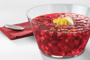 Festive Cranberry Pineapple Salad